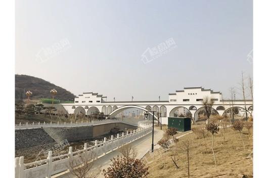 蓝城·北京桃李春风实景图