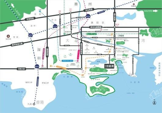 伟业兰廷湾交通图