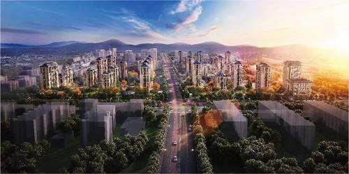 北京城建·府前龙樾效果图