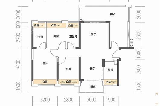 润金名苑户型图