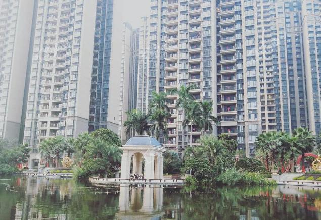 恒大郦湖城实景图