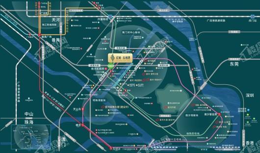 星河·东悦湾位置图
