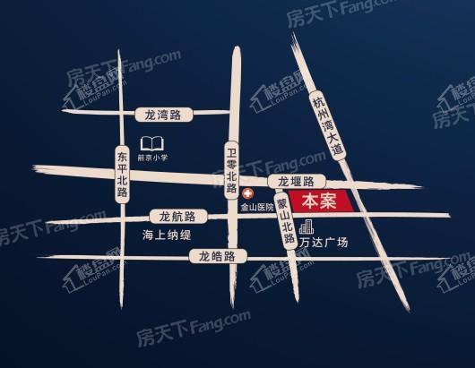 铂翠廷交通图