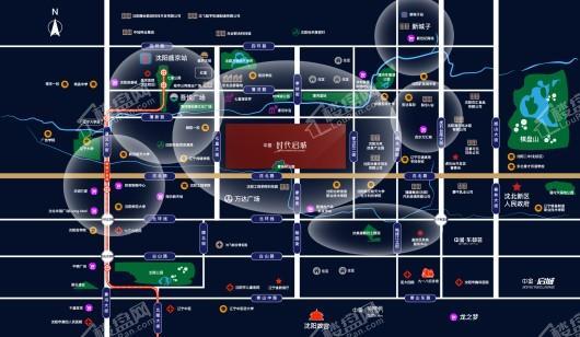 中金·时代启城交通图