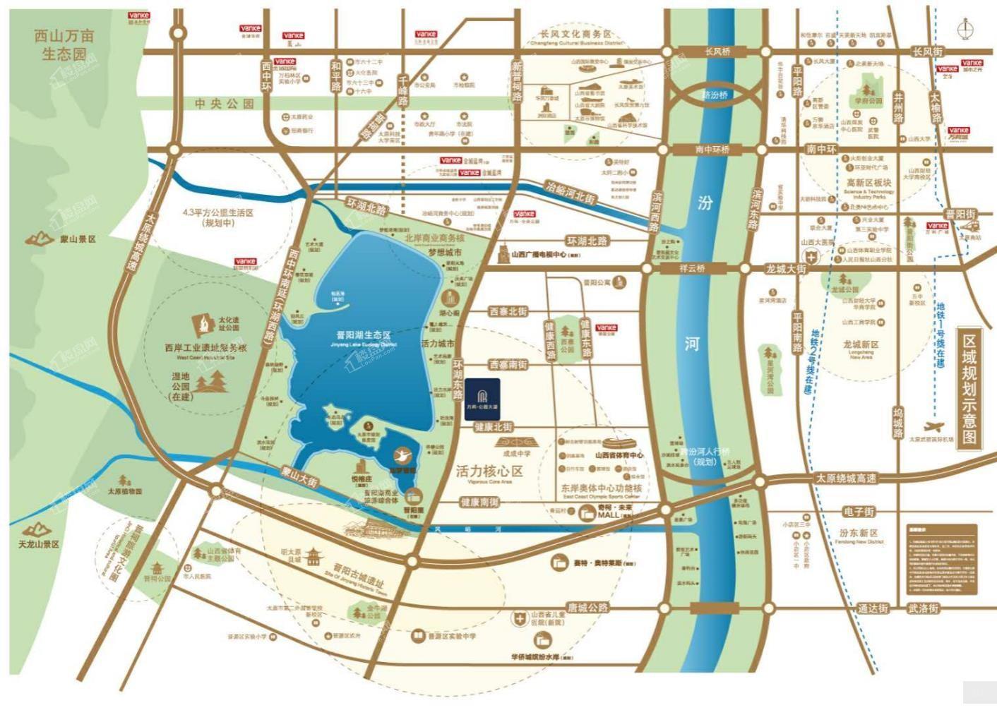 万科公园大道位置图