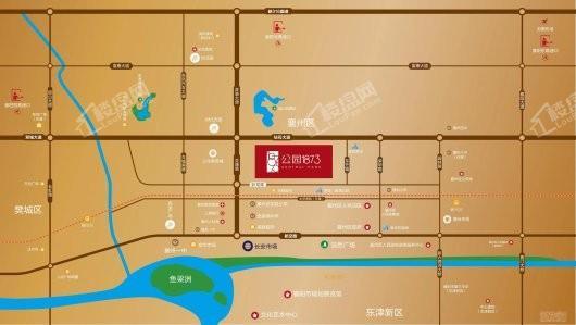 新力弘阳公园1873交通图