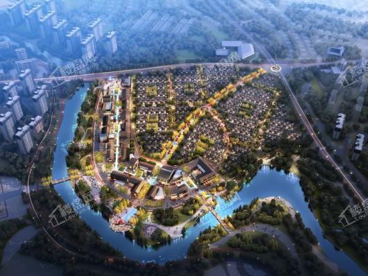 碧桂园咸宁温泉旅游城效果图