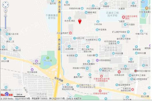 禹洲新华区二环项目交通图