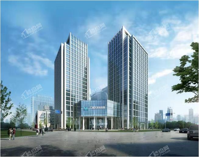 广西大学科技园效果图