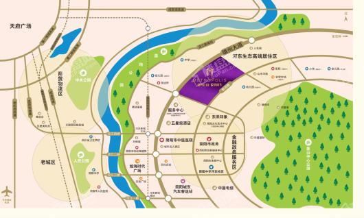 新城·悦隽风华交通图