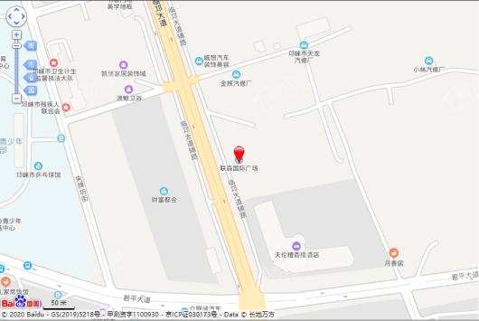 联森国际广场交通图
