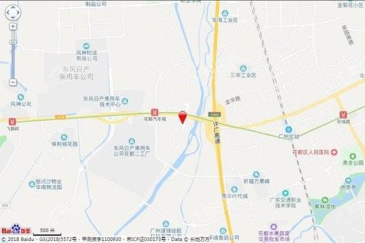 名荟公馆交通图