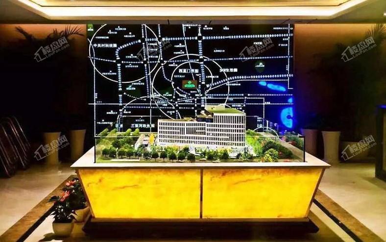 融汇国际大厦实景图