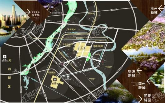 亿联智慧商贸城交通图
