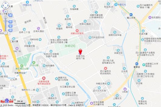 万科天荟(写字楼)交通图