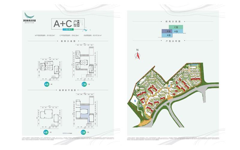 滇池南湾未来城户型图