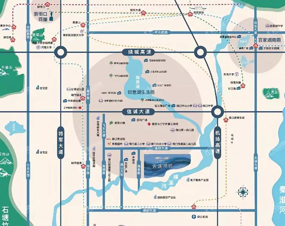 云溪璟园位置图