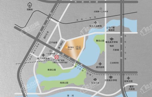 华润置地|瑞府交通图