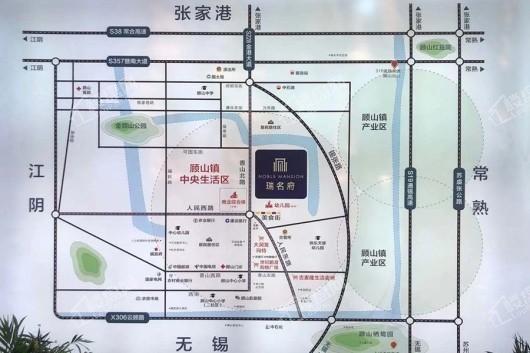 瑞名府交通图