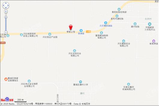 泰智公馆交通图