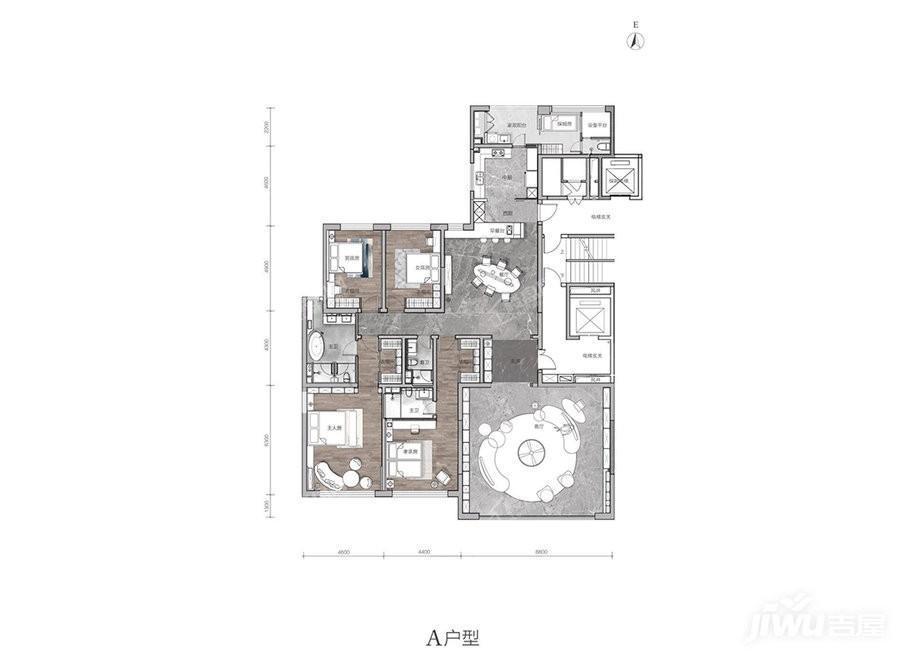4室2厅3卫330平