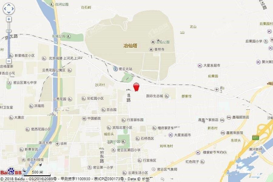 京投发展锦悦府位置图