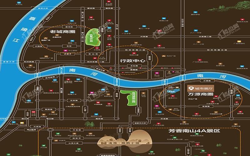 澳维·鲲鹏小镇位置图