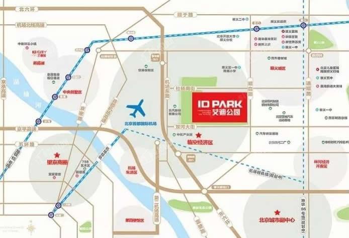 ID-PARK艾迪公园位置图