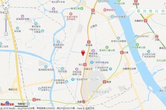 广州敏捷朗悦公馆交通图