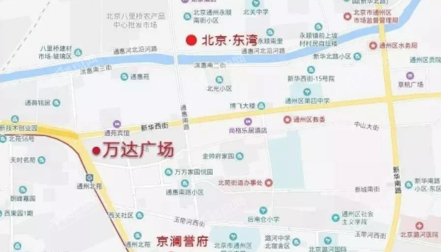 京澜誉府位置图