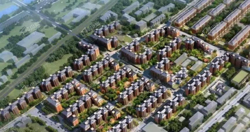 北京城建天坛府效果图