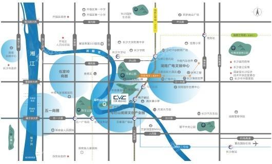 长房·视谷中心交通图