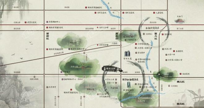 泰禾西府大院位置图