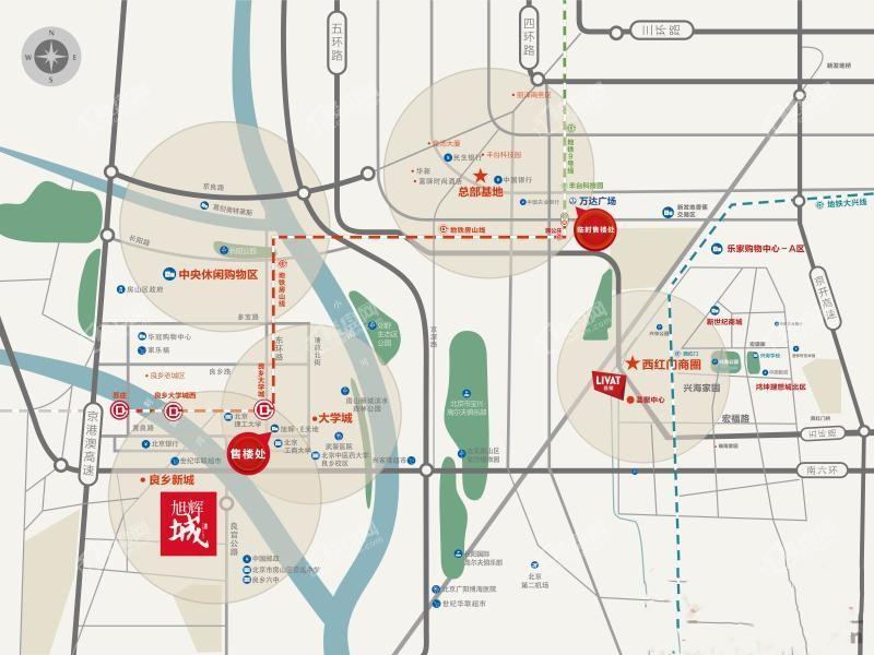 旭辉城位置图