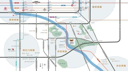 京能|电建·洺悦湾交通图