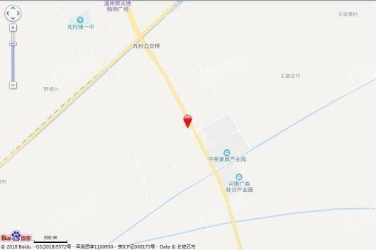 碧源郑北瑞园交通图