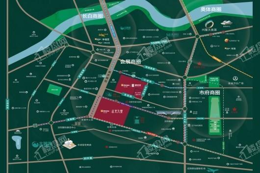 华润置地|静安府交通图