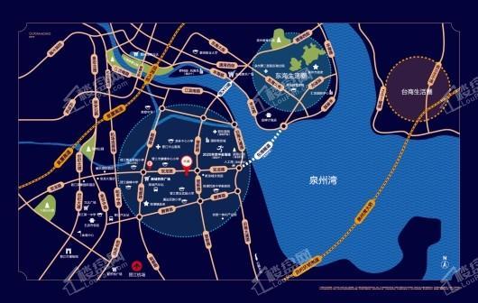 碧桂园万顺城央壹品交通图