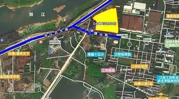 南昌雍江花园位置图