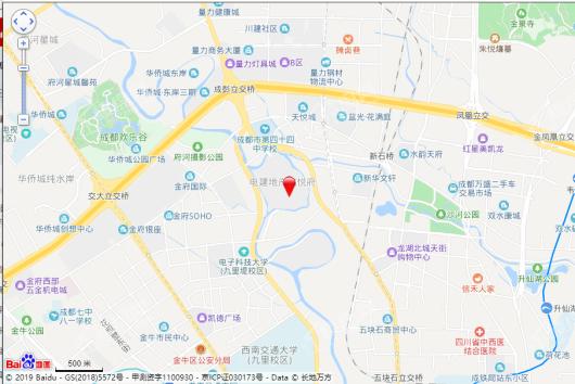 电建地产洺悦府环岛汇交通图