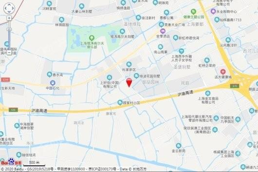 虹桥御墅交通图