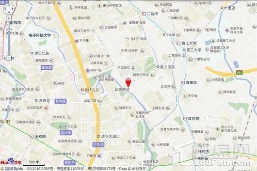 龙湖梵城(公寓)位置图