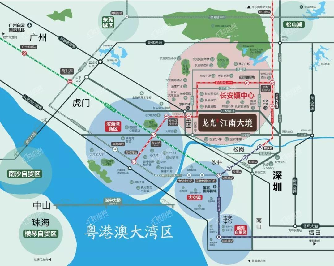 龙光江南大境位置图