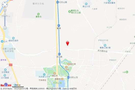 中海麓湖公馆交通图