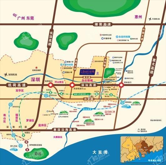 LOMO公馆交通图