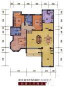 172.59平米 4室