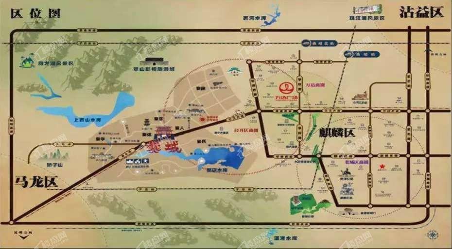 南中爨城位置图