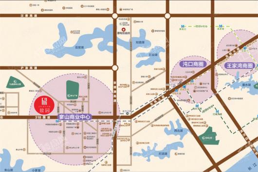 武地城开恒瑞欣园交通图