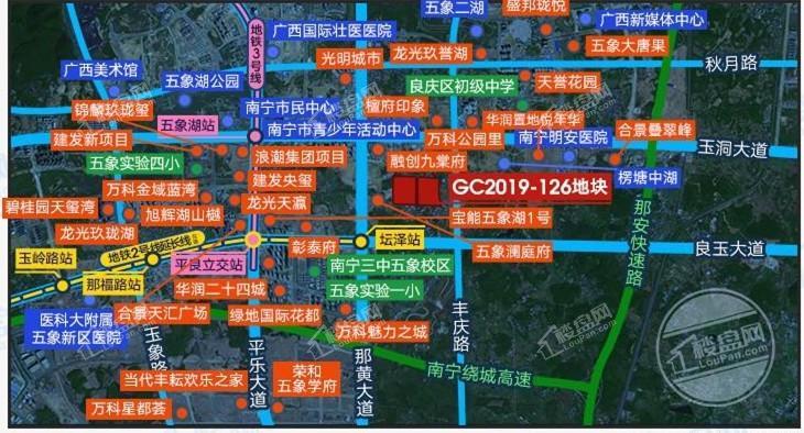 阳光城大唐檀境位置图