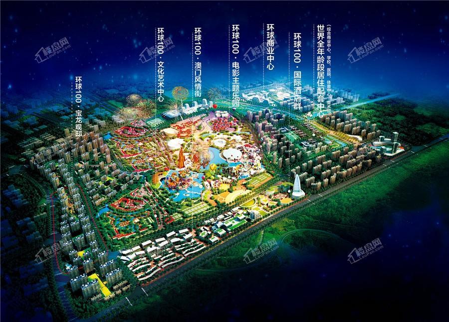 环球100宝龙城效果图